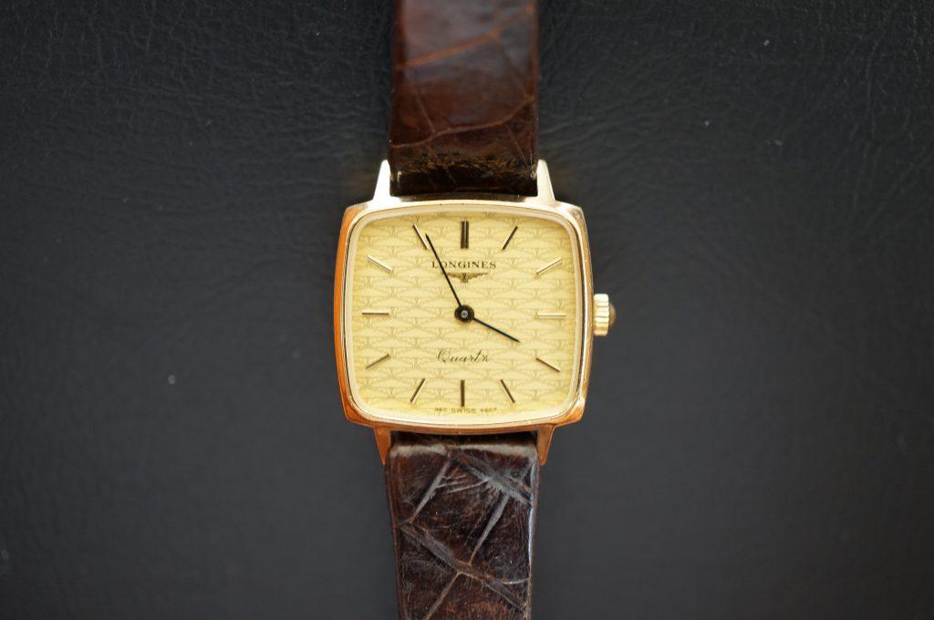 No.975  LONGINES (ロンジン) クォーツ腕時計を修理しました