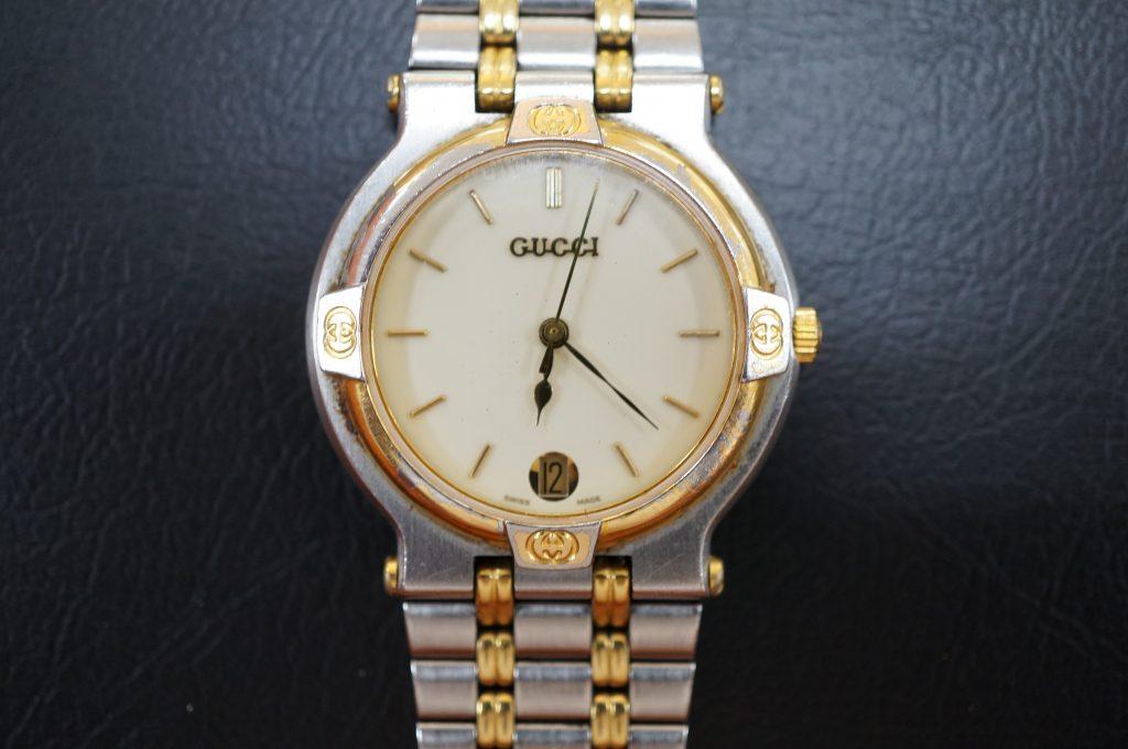 No.996  GUCCI (グッチ) クオーツ式腕時計を修理しました