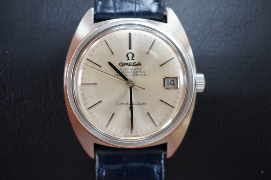 No.993  OMEGA  (オメガ) コンスティレーション 自動巻き腕時計を修理しました