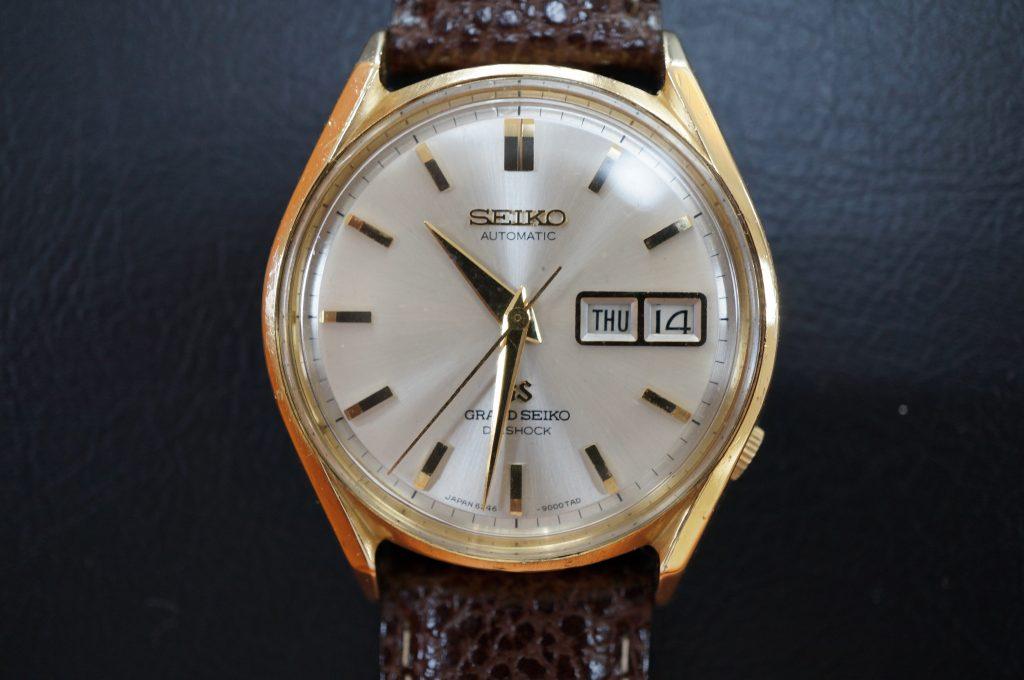 No.992  SEIKO GS (グランドセイコー) 自動巻き腕時計を修理しました