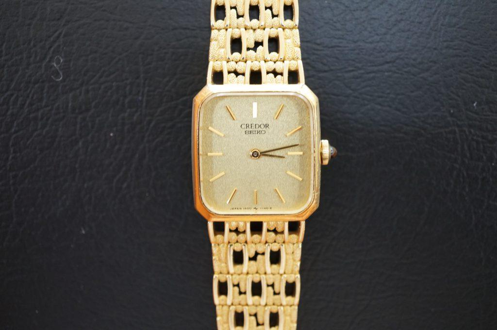 No.1007  SEIKO CREDOR (クレドール) クオーツ式腕時計を修理しました