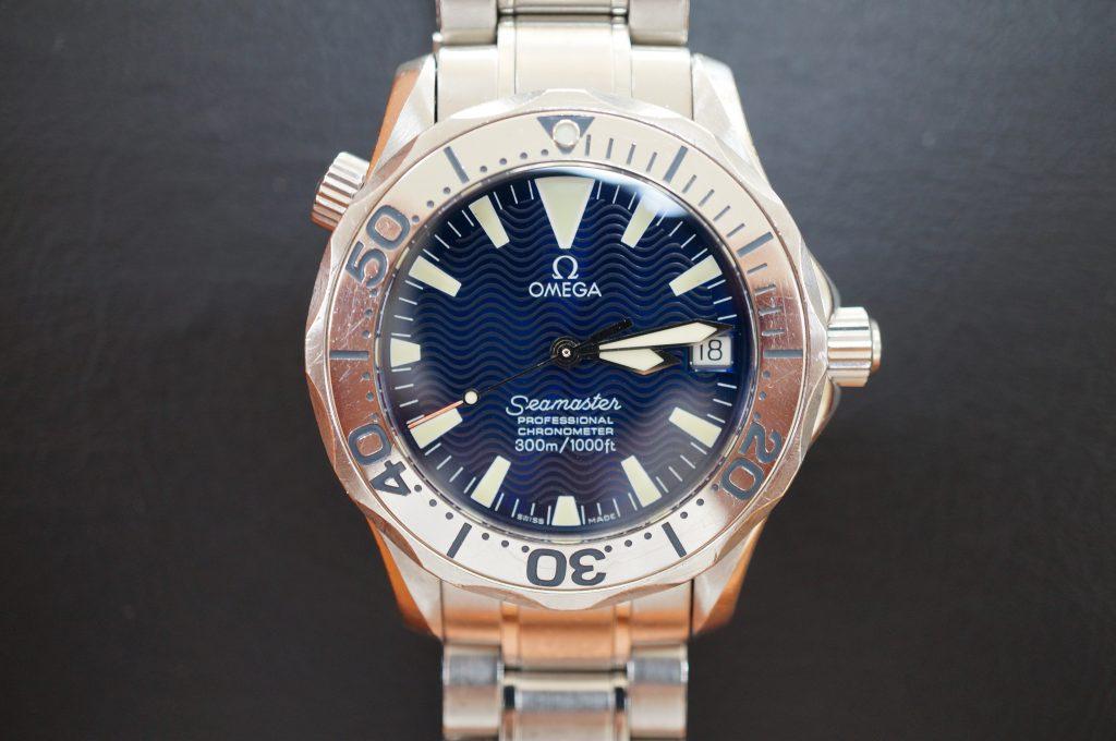 No.1006  OMEGA Seamaster (シーマスター) 自動巻き腕時計を修理しました