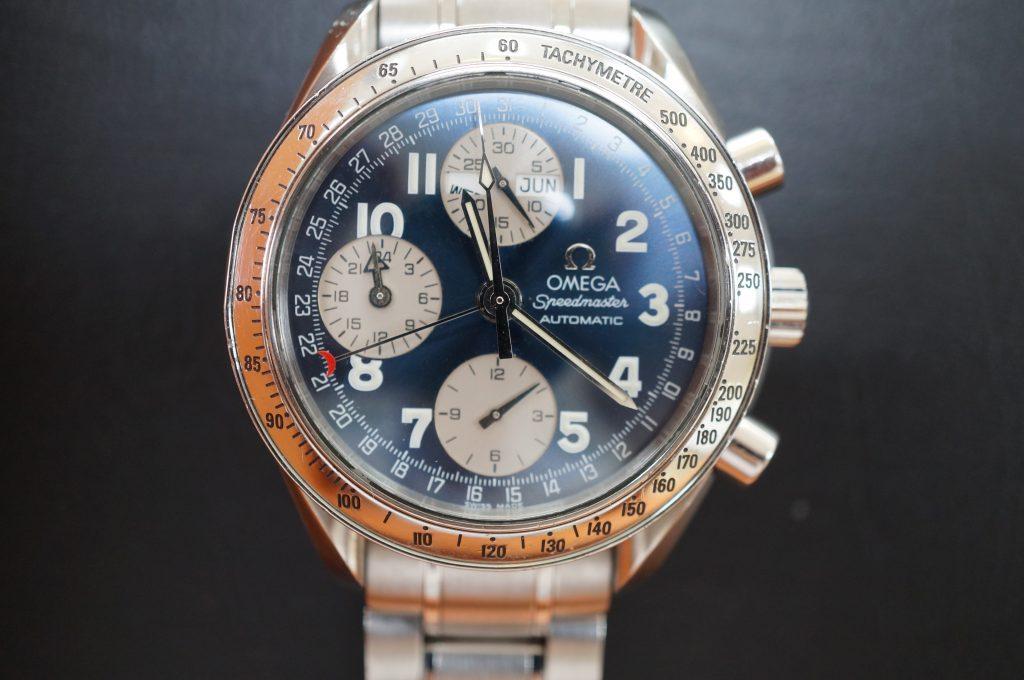 No.1004  OMEGA Speedmaster (オメガスピードマスター) 自動巻き腕時計を修理しました