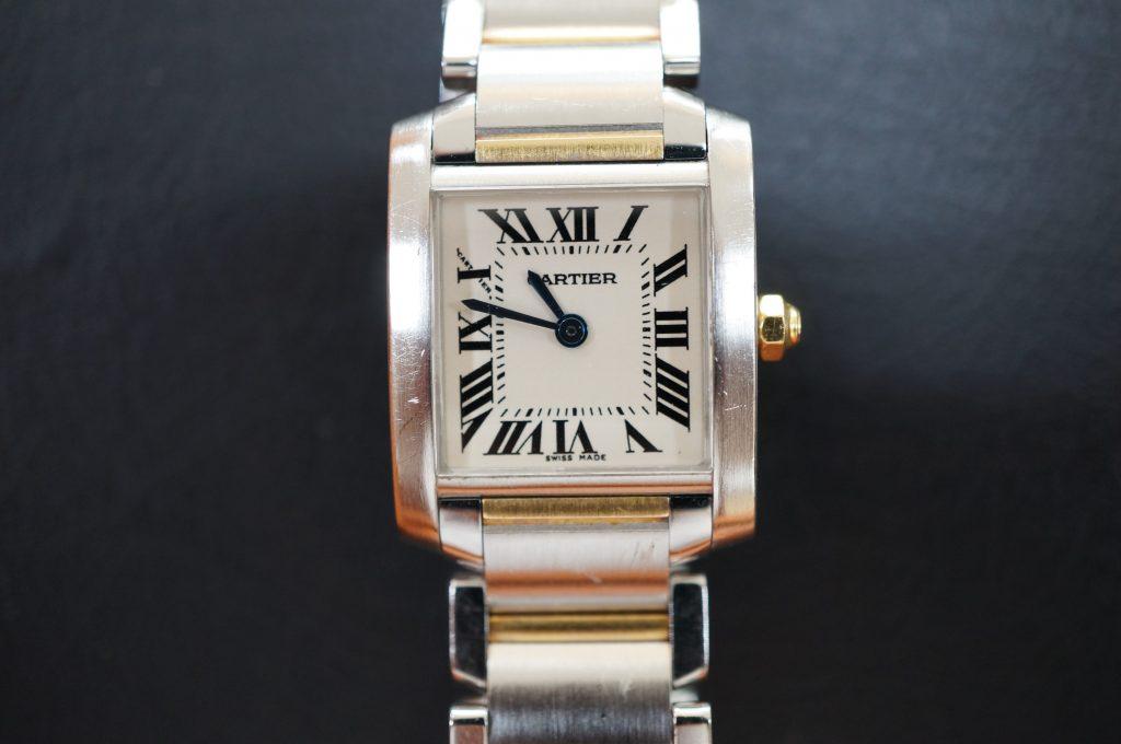No.1003  CARTER (カルティエ ) 自動巻き腕時計を修理しました