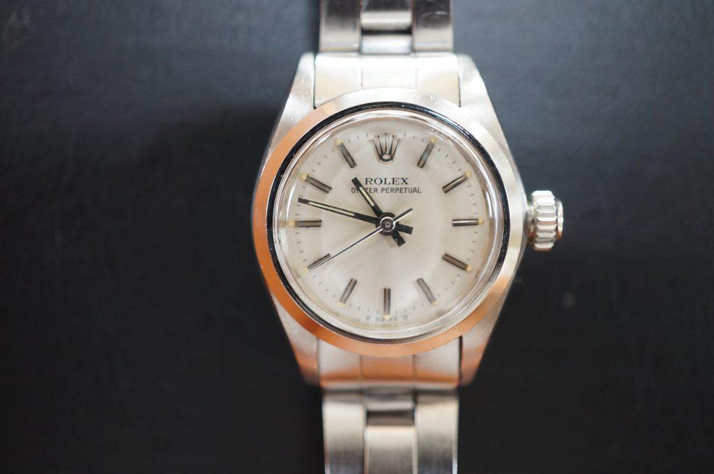 No.1002  ROLEX (ロレックス ) 自動巻き腕時計を修理しました