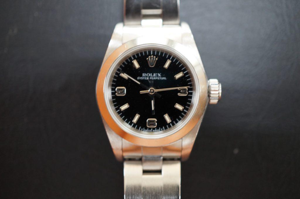 No.1001  ROLEX (ロレックス ) 自動巻き腕時計を修理しました