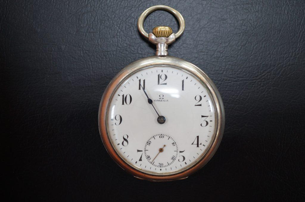 No.1020  OMEGA(オメガ)アンティーク懐中時計を修理しました