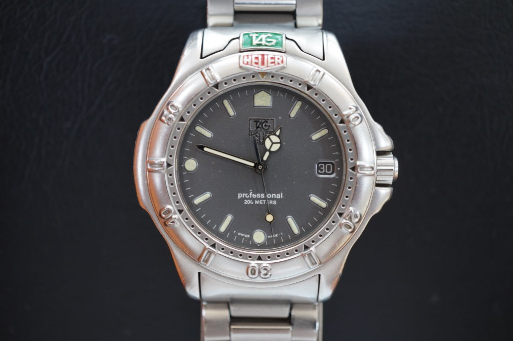 No.1029  TAG HEUER (タグホイヤー) クォーツ式 腕時計を修理しました