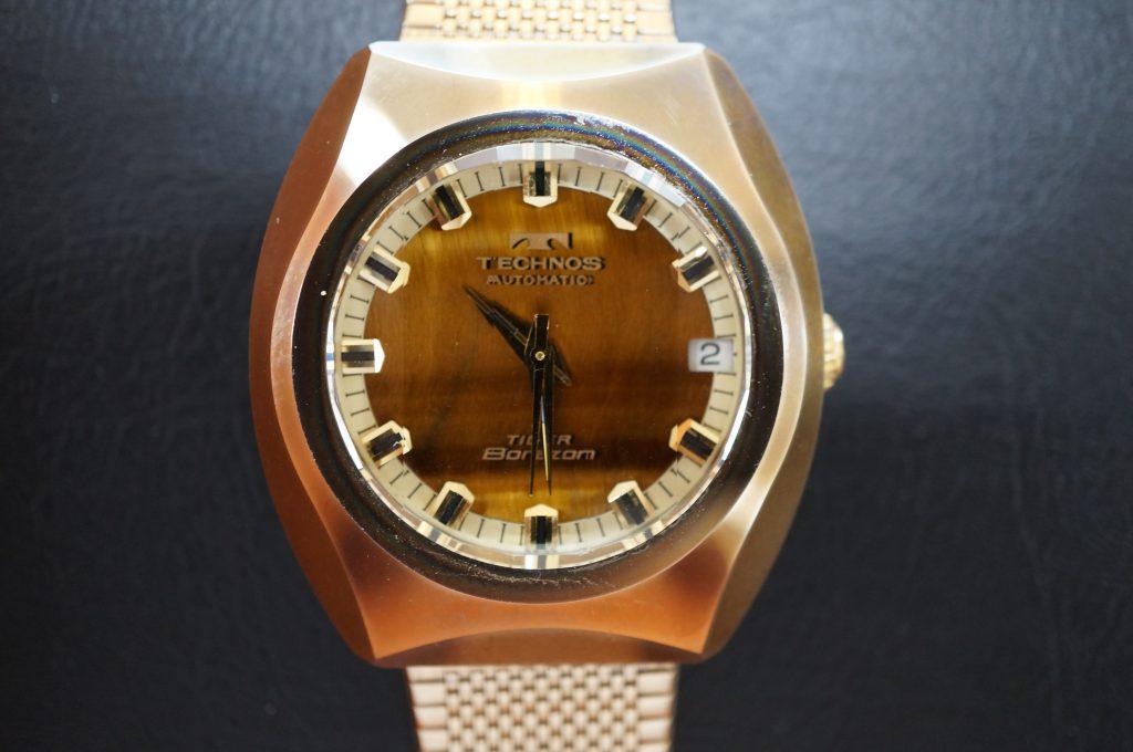 No.1028  TECHNOS (テクノス)ボラゾン  クオーツ式 腕時計を修理しました