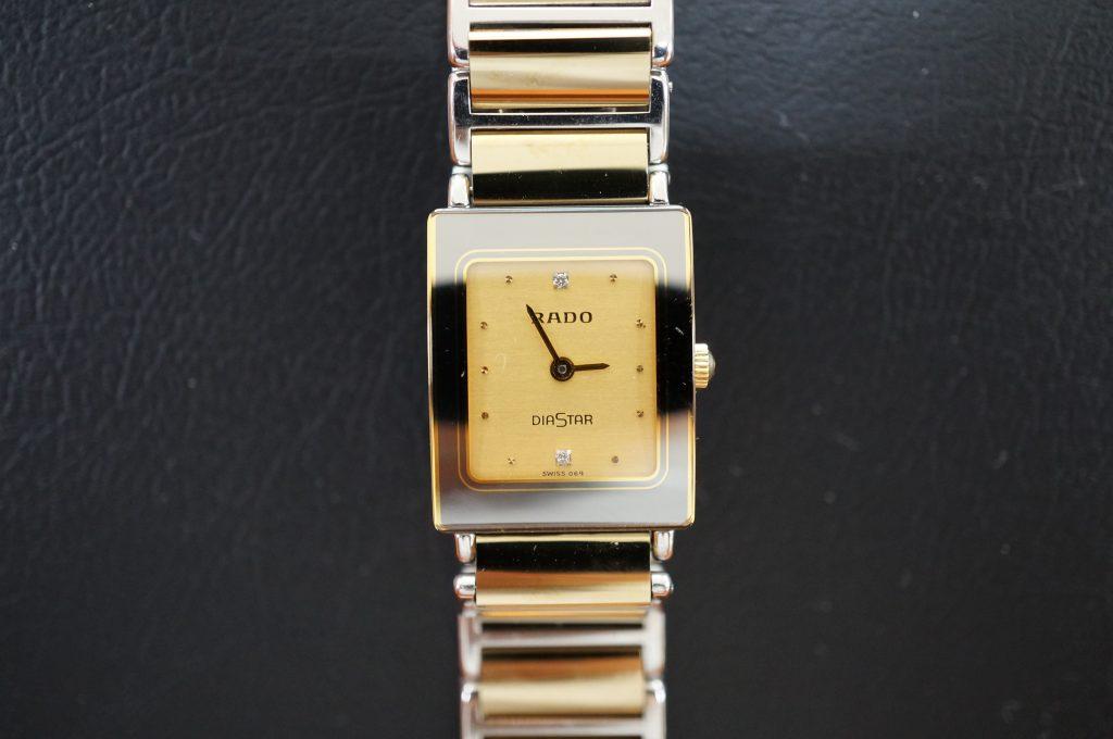 No.1024  RADO (ラドー)  クオーツ式 腕時計を修理しました