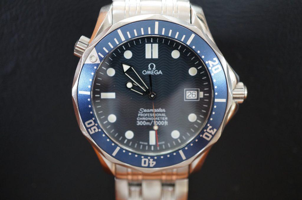 No.1023  OMEGA Seamaster (シーマスター) 自動巻き腕時計を修理しました