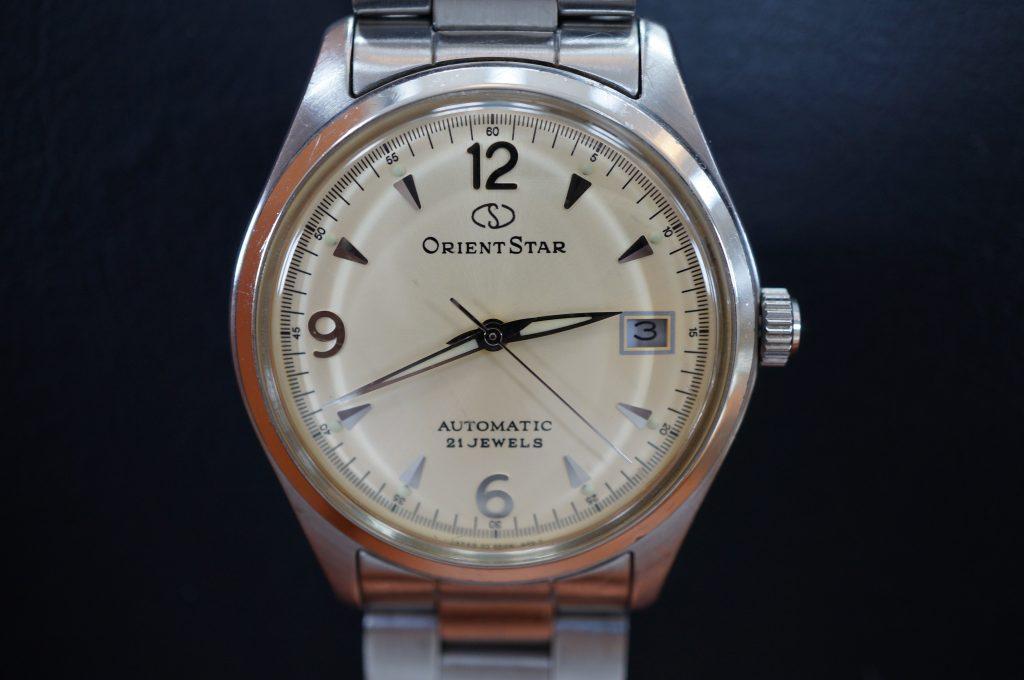 No.1022  ORIENT STAR (オリエントスター ) 自動巻き腕時計を修理しました