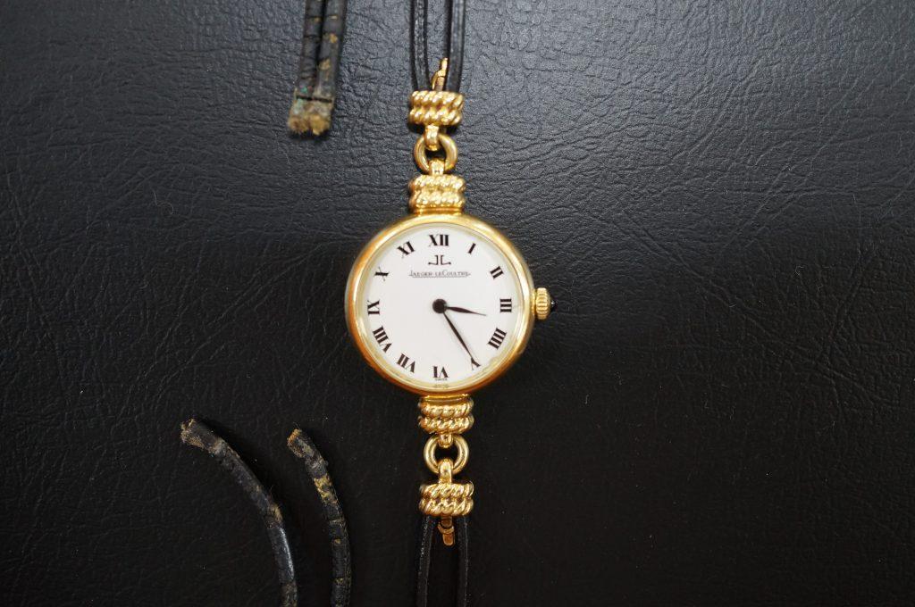 No.1064  JAEGER LECOULTRE (ジャガー・ルクルト ) 手巻き腕時計を修理しました