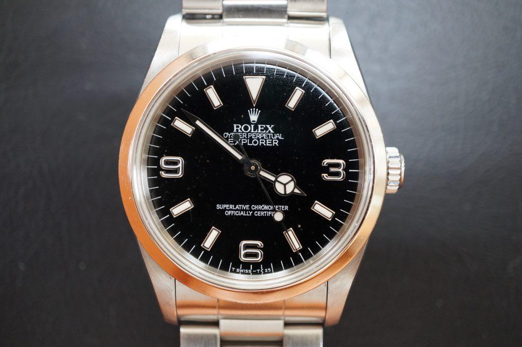 No.1061  ROLEX (ロレックス エクスプローラー1 ) 自動巻き腕時計を修理しました