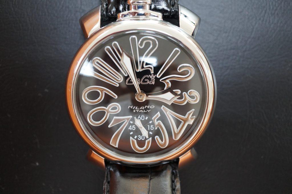 No.1048  GaGa MILANO (ガガミラノ ) 自動巻き腕時計を修理しました
