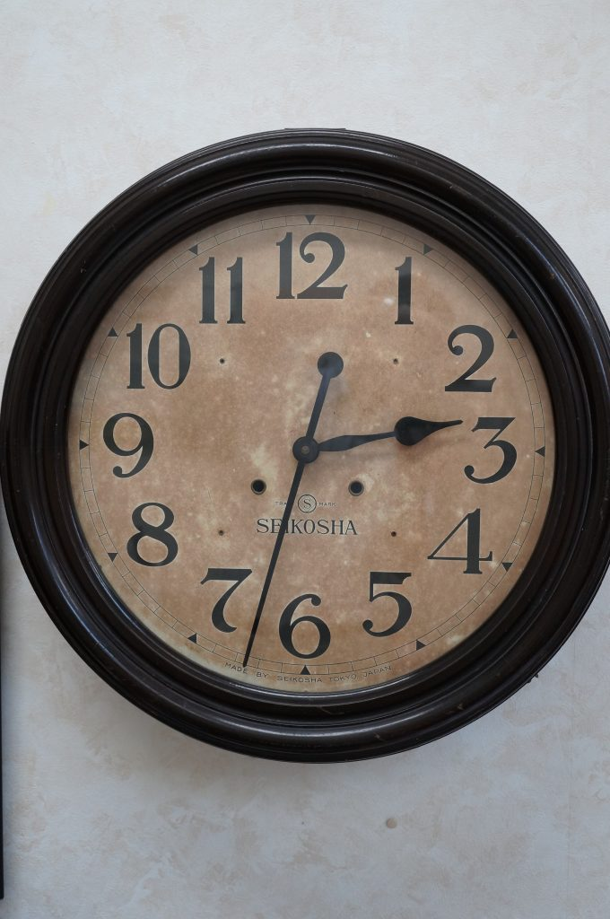 No.1047  SEIKOSHA(セイコー) アンティーク  掛け時計を修理しました
