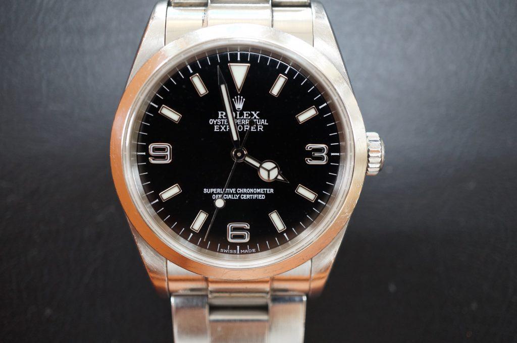 No.1043  ROLEX (ロレックス エクスプローラー1 ) 自動巻き腕時計を修理しました