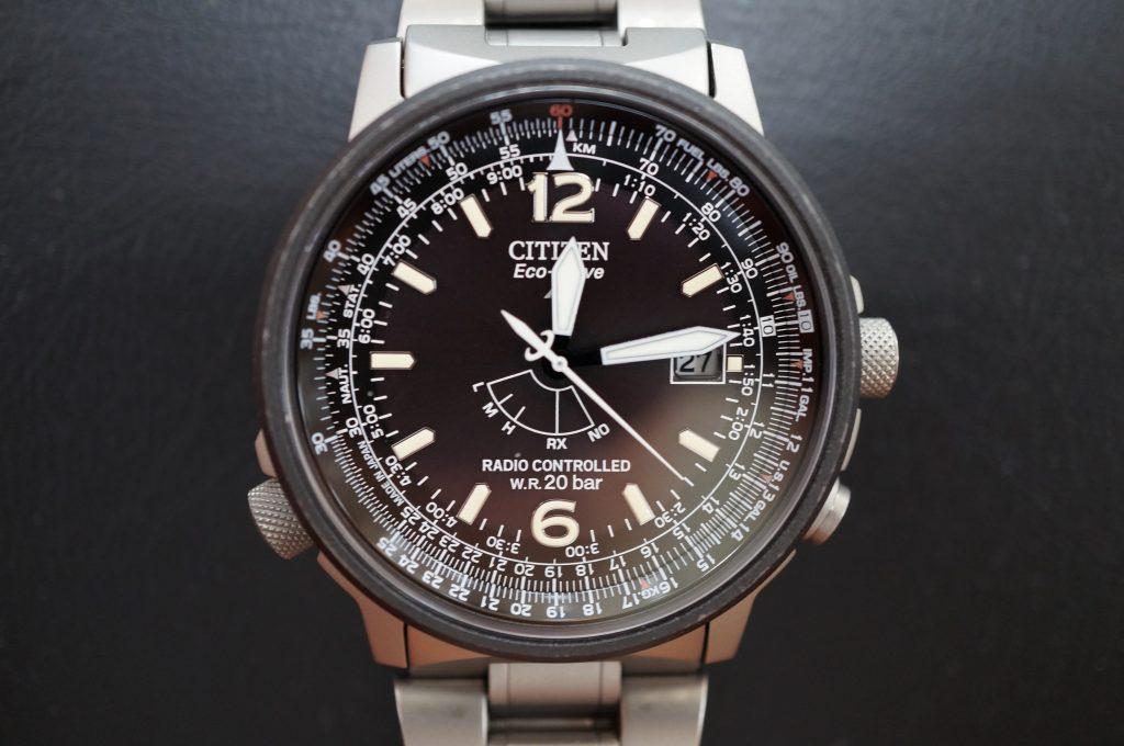 No.1069  CITIZEN  (シチズン )  ソーラー式電波 腕時計を修理しました