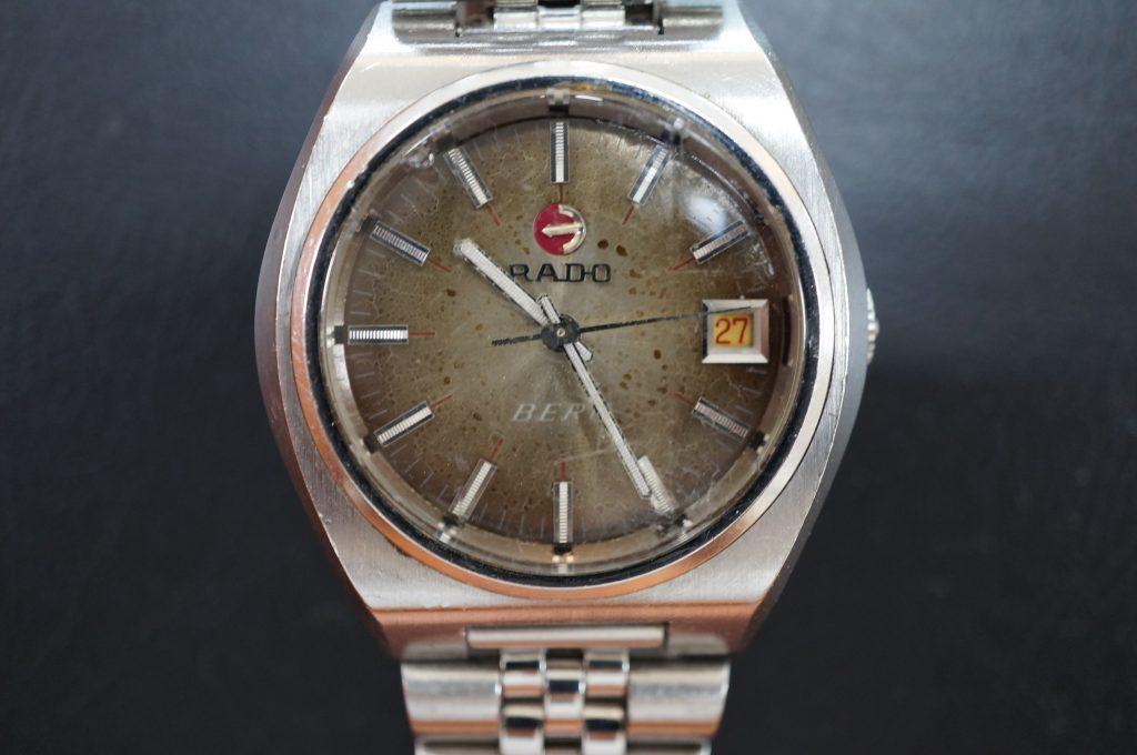 No.1070  RADO (ラドー ) 自動巻き腕時計を修理しました