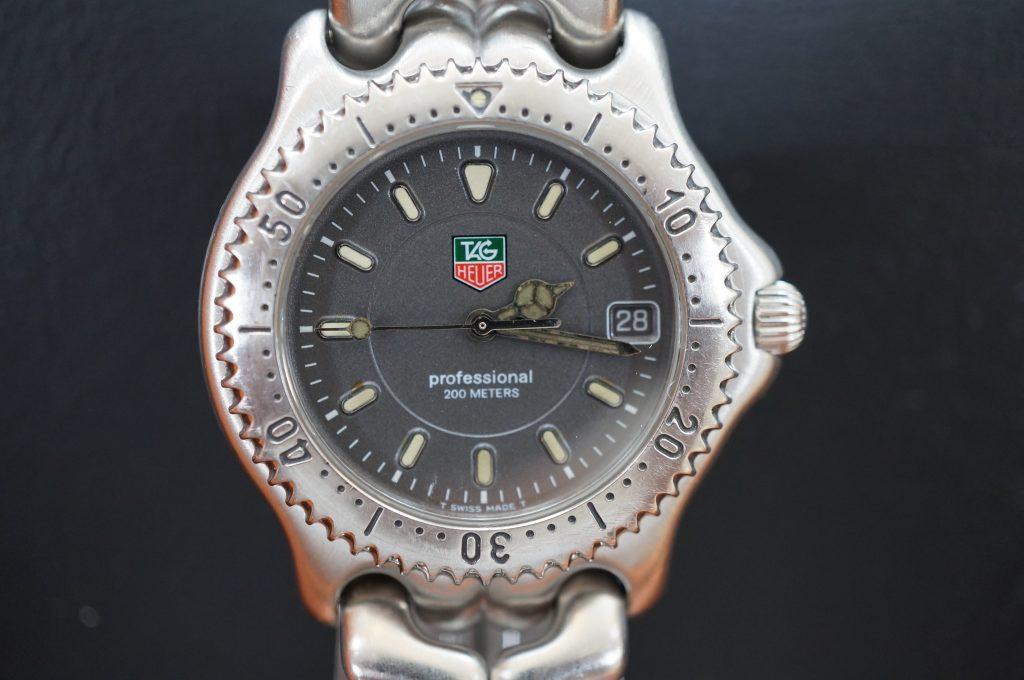 No.1065  TAG HEUER (タグホイヤー) クォーツ式 腕時計を修理しました