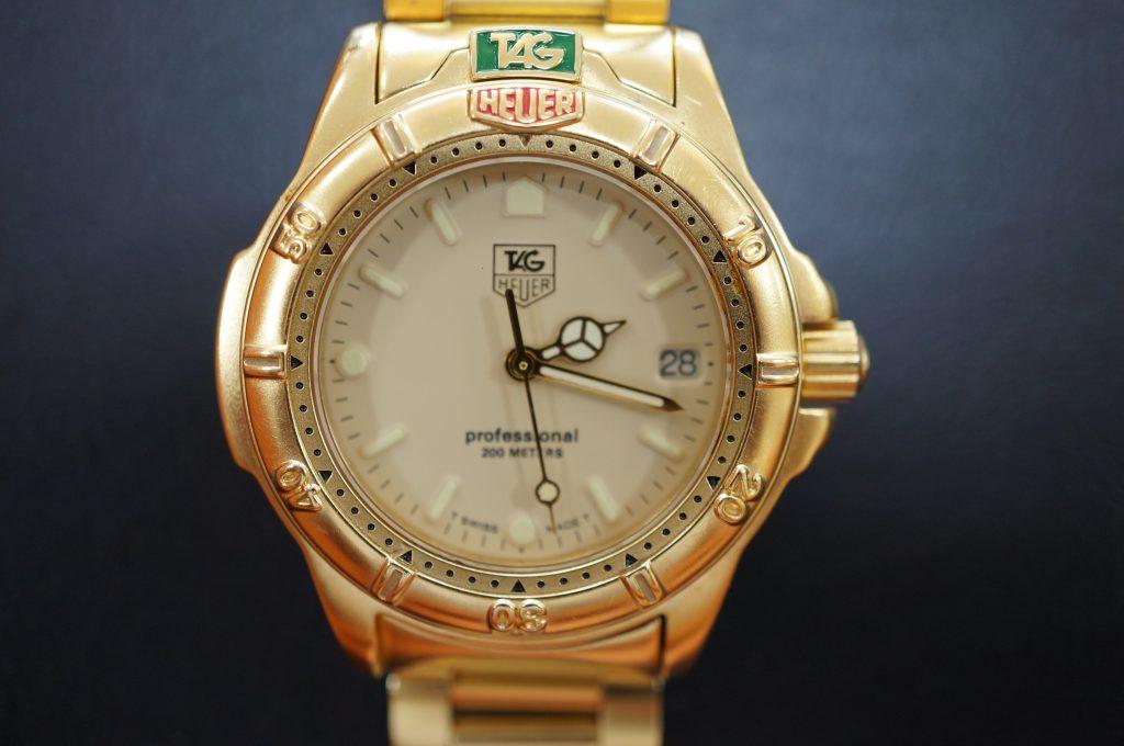 No.1066  TAG HEUER (タグホイヤー) クォーツ式 腕時計を修理しました