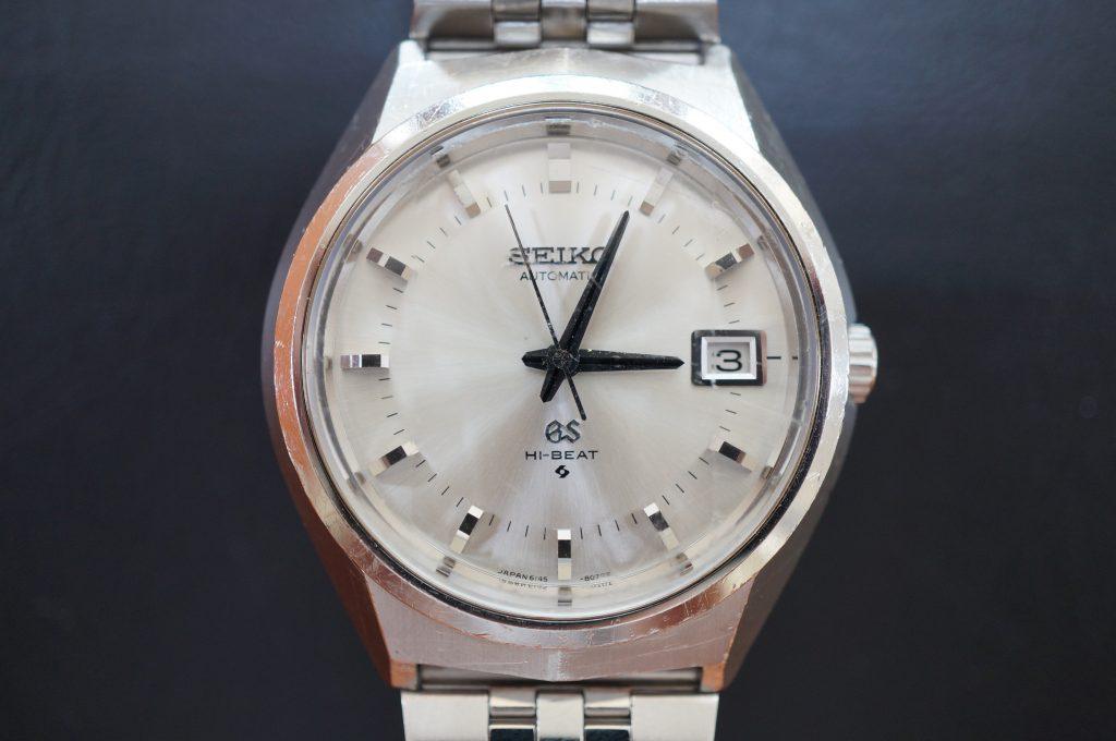 No.1084  SEIKO GS 43999(グランドセイコー) 手巻き腕時計を修理しました