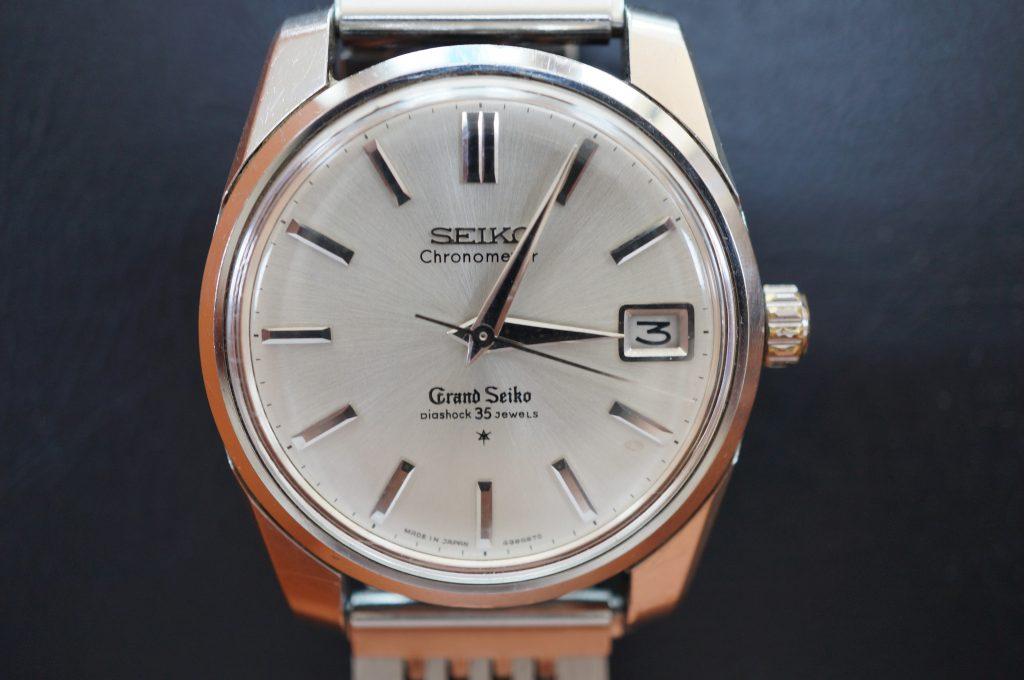 No.1083  SEIKO GS 6145(グランドセイコー) 自動巻き腕時計を修理しました