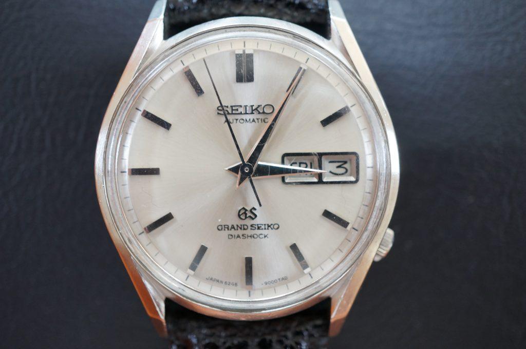 No.1082  SEIKO GS 6246(グランドセイコー) 自動巻き腕時計を修理しました