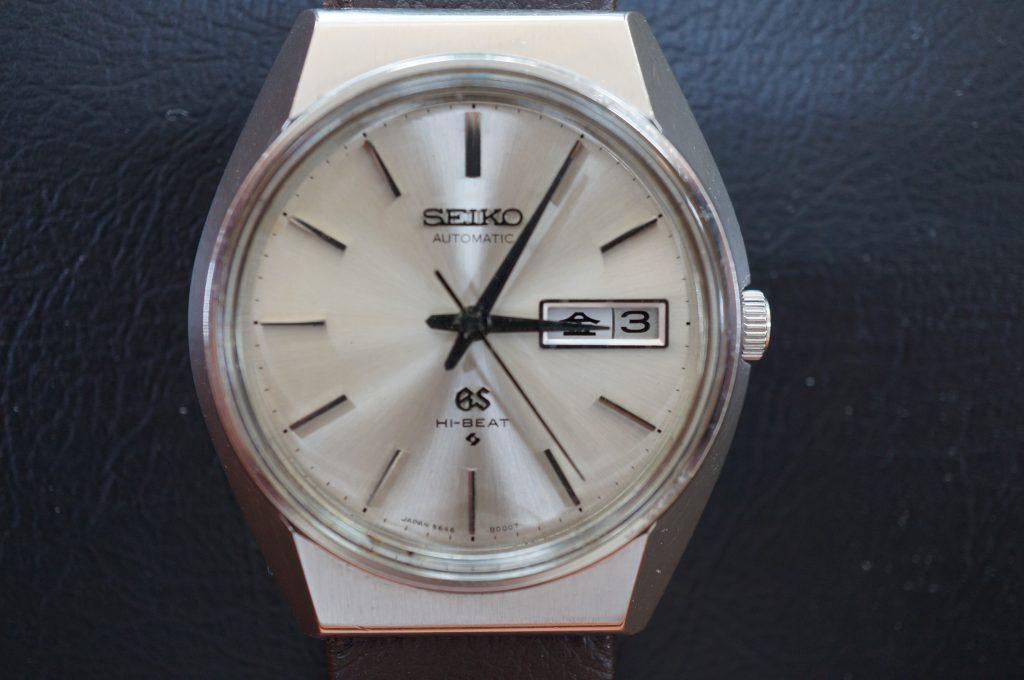 No.1081  SEIKO GS 5646(グランドセイコー) 自動巻き腕時計を修理しました