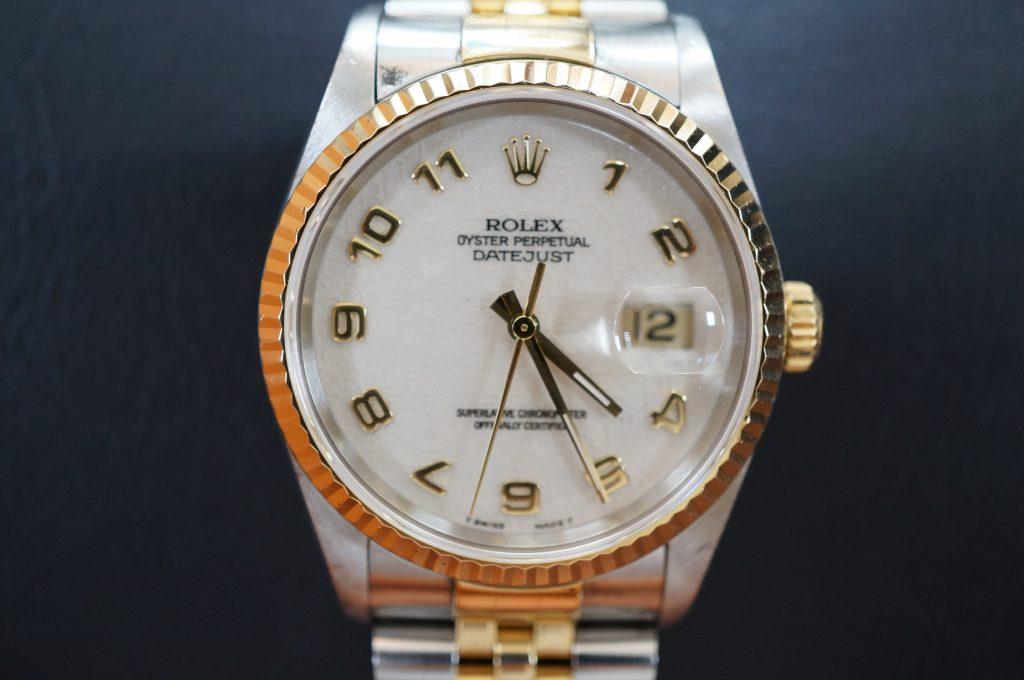No.1121  ROLEX (ロレックス ) 自動巻き腕時計を修理しました