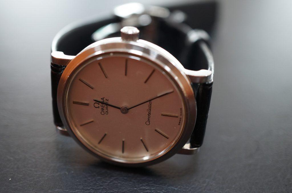 No.1108  OMEGA CONSTELLATION (コンステーション) クォーツ式腕時計を修理しました