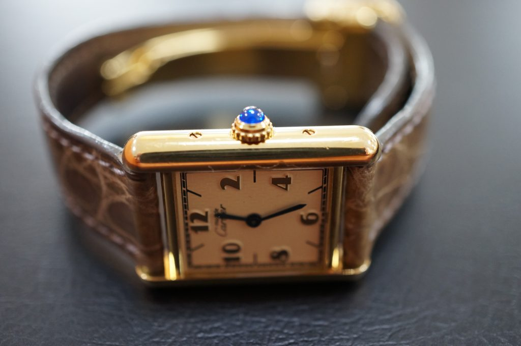 No.1109  CARTER (カルティエ) クォーツ式腕時計を修理しました