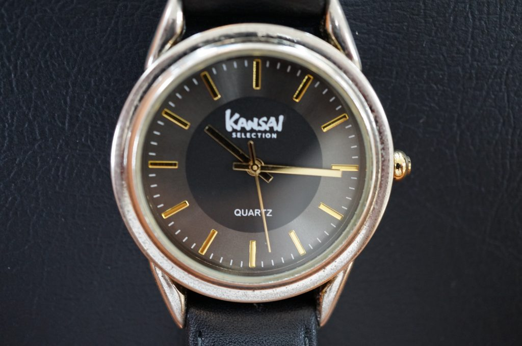 No.1102  KANSAI (オリジナル) クォーツ式腕時計を修理しました
