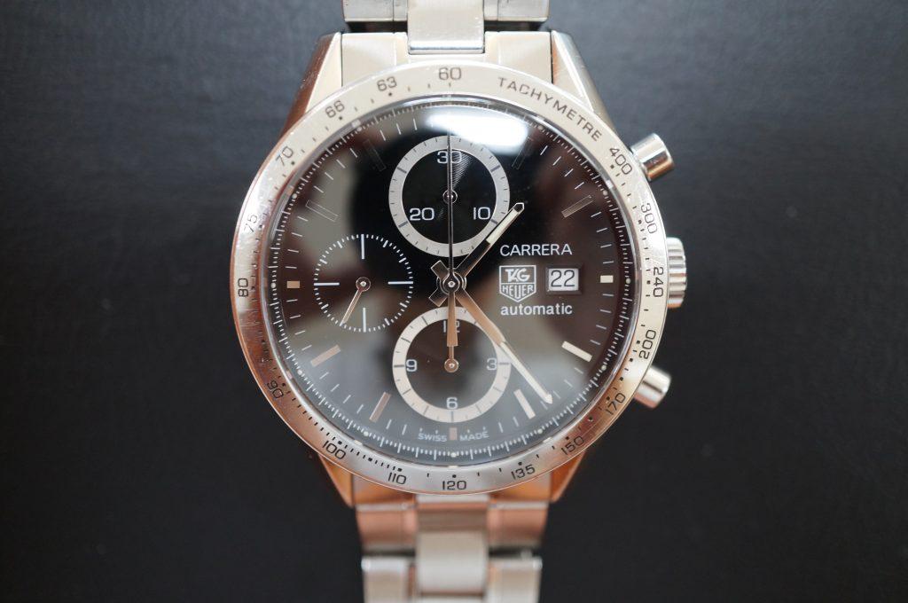 No.1100  TAG HEUER (タグホイヤー) 自動巻腕時計を修理しました