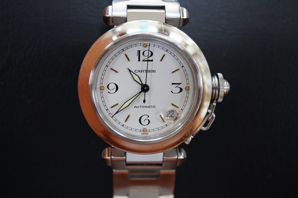 No.1090  CARTER (カルティエ ) 自動巻き腕時計を修理しました