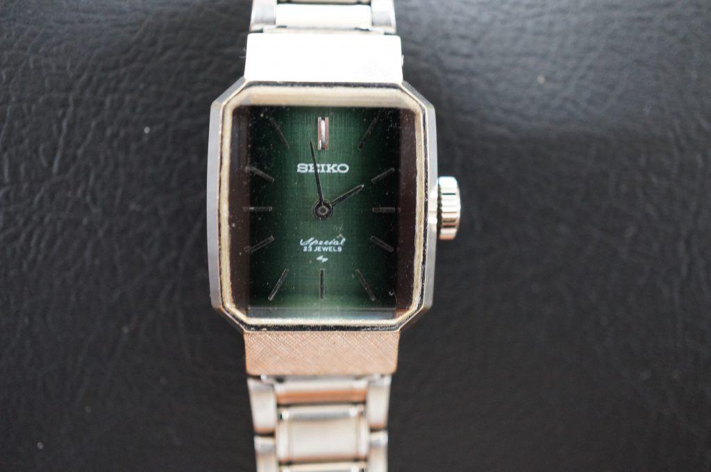 No.1087  SEIKO (セイコー) 手巻き腕時計を修理しました