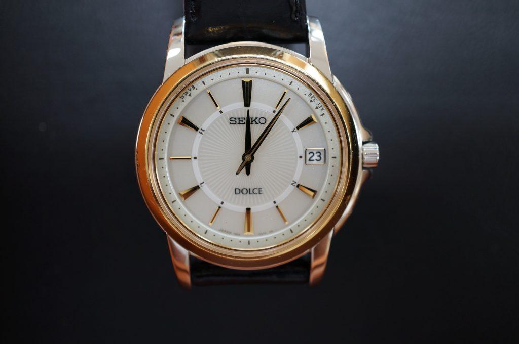 No.1086  SEIKO DOLCE (セイコードルチェ) ソーラー電波腕時計を修理しました