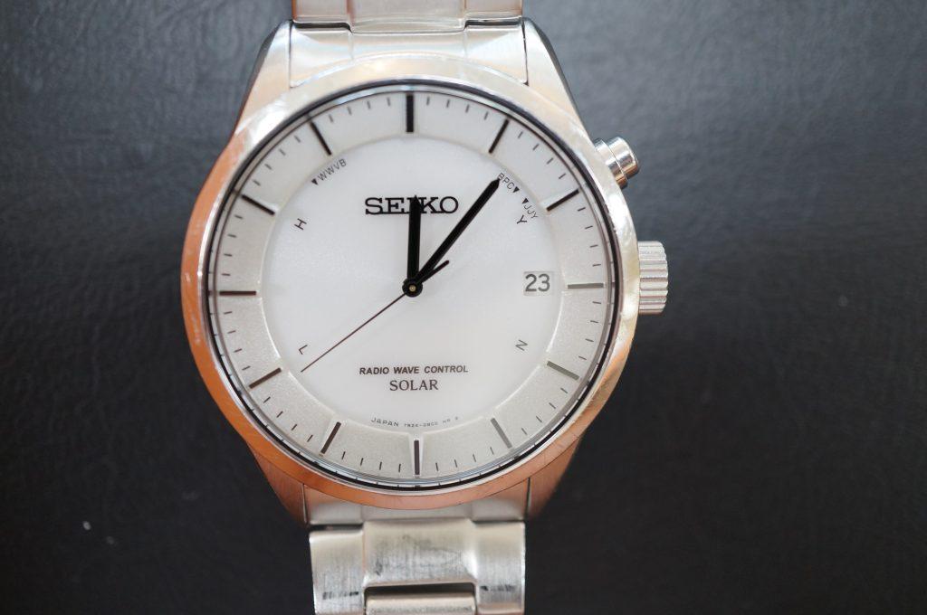 No.1085  SEIKO (セイコー) ソーラー電波腕時計を修理しました