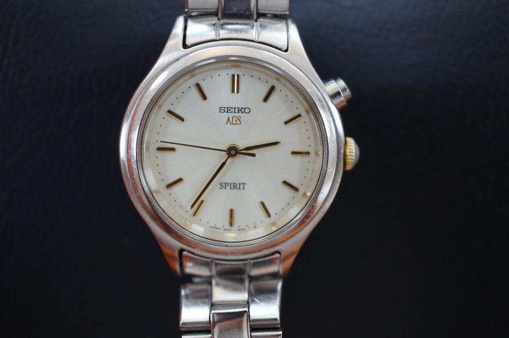 No.1128  SEIKO (セイコー) AGS 腕時計を修理しました