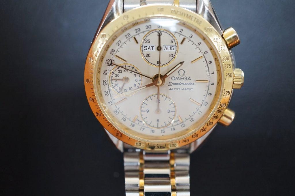 No.1127  OMEGA Speedmaster (オメガスピードマスター) 自動巻き腕時計を修理しました