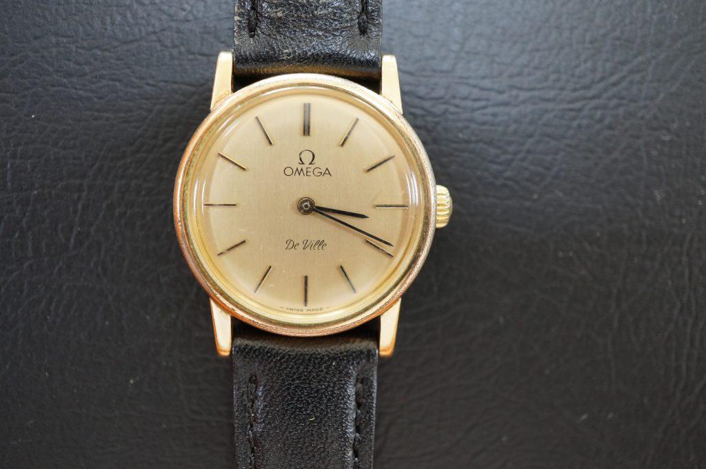 No.1124  OMEGA Devill (デ・ビル) 手巻き式腕時計を修理しました