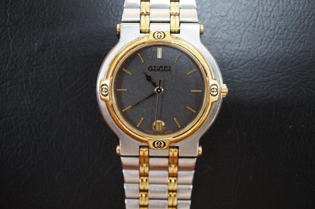 No.1150  GUCCI (グッチ) クオーツ式腕時計を修理しました