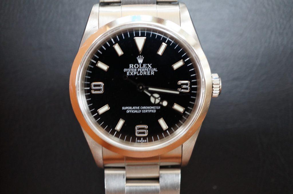 No.1151  ROLEX (ロレックス エクスクローラ1) 自動巻き腕時計を修理しました