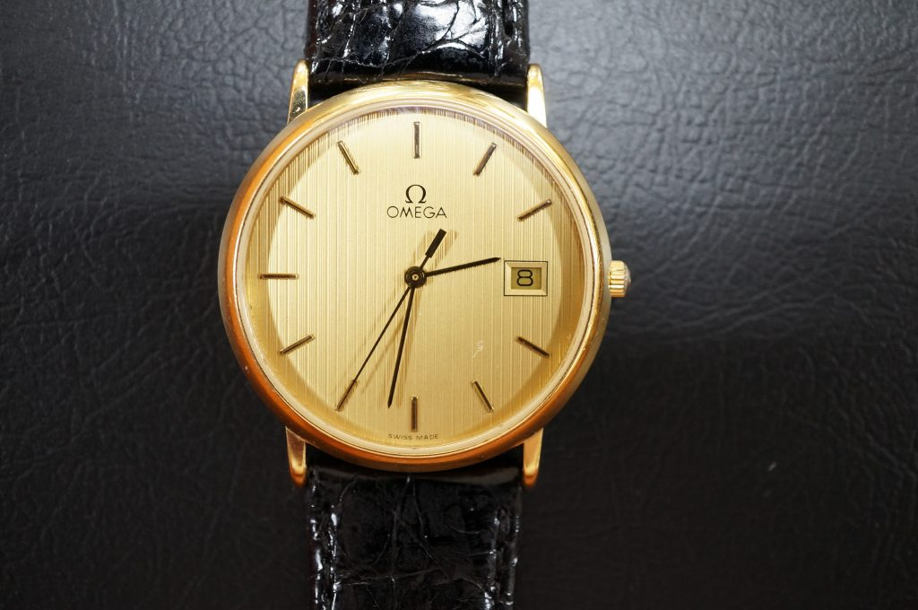 No.1138  OMEGA (オメガ) クォーツ式腕時計を修理しました