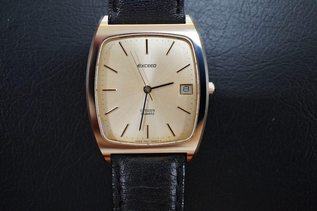 No.1140  CITIZEN (シチズン) クォーツ式腕時計を修理しました