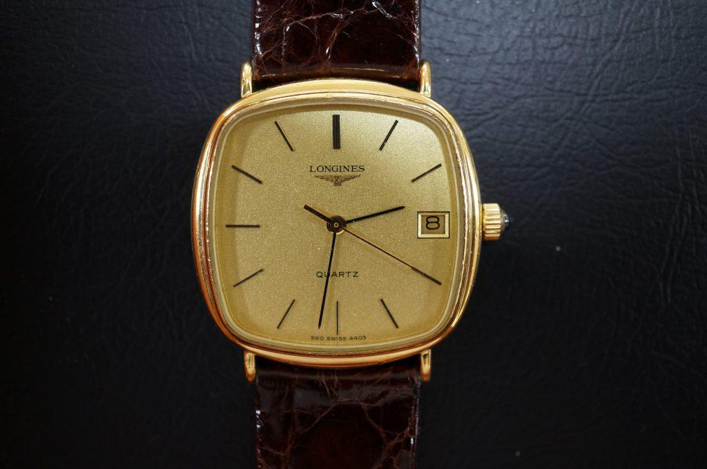 No.1139  LONGINES (ロンジン) クォーツ式腕時計を修理しました