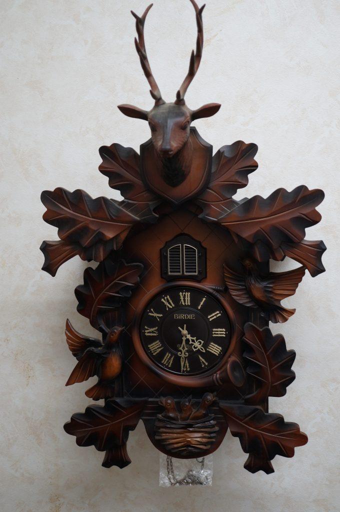 No.1135  SEIKO  BiRDIE(セイコー) クォーツ式 鳩腕時計を修理しました