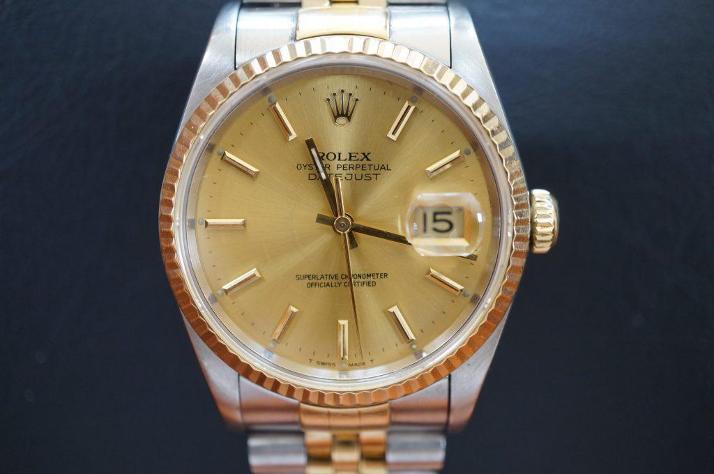 No.1134  ROLEX (ロレックス ) 自動巻き腕時計を修理しました