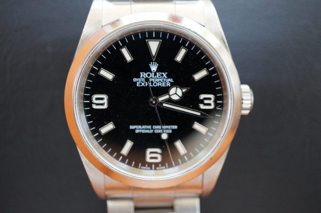 No.1130  ROLEX (ロレックス エクスクローラ1) 自動巻き腕時計を修理しました