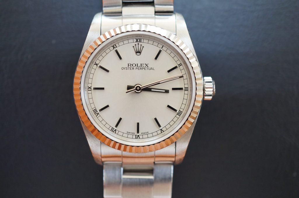 No.1129  ROLEX (ロレックス ) 自動巻き腕時計を修理しました